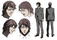 Kou Honda OVA Design