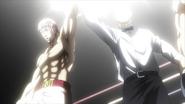 Keiji winning a title