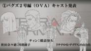 Nanao, Thien and Donatello OVA design