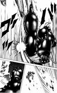 Infernalis Terraformar kicking Keiji