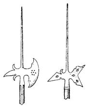 Svenska hillebarder (1500-talet), Nordisk familjebok.png