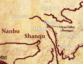 Ulyan area tribes large