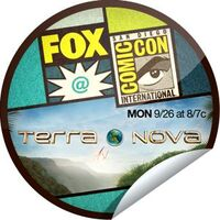 Getglue FOX at Comic-Con Terra Nova