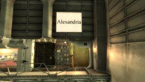 Alexandria Sign