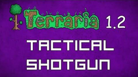 Tactical Shotgun - Terraria 1