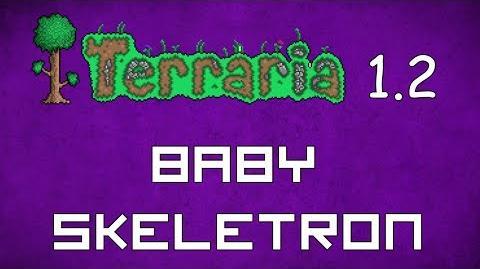 Baby Skeletron - Terraria 1