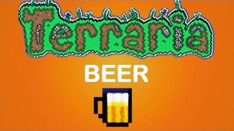 Terraria beer Keg mug Ale