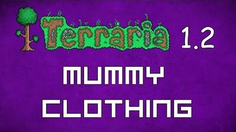 Mummy Clothing - Terraria 1