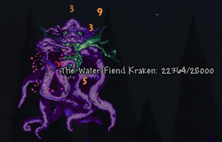 Kraken Super Boss, phase 1