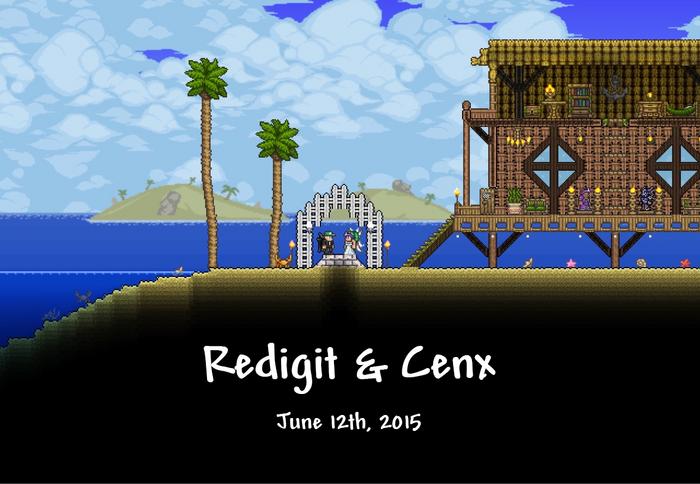 Red & Cenx Wedding