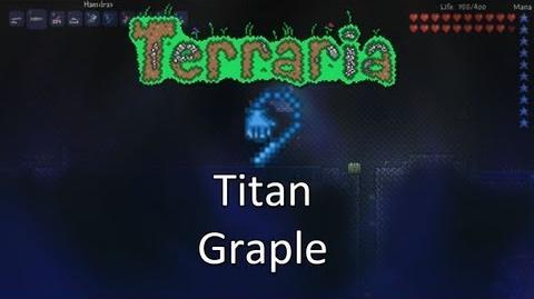 Terraria Obsidian Mod — Titan Grapple!