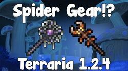 Spider Summoner Gear , Armor & Weapons! - Terraria 1.2