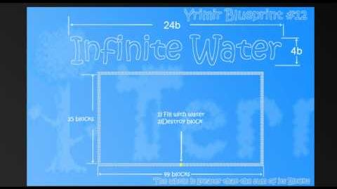 Terraria - Infinite Water Bug, refilling the Ocean