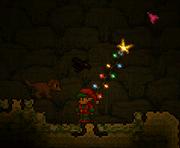 Christmas hook lighting