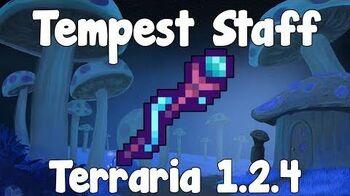 Tempest Staff , Sharknado Summons! - Terraria 1.2