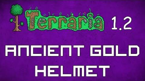 Ancient Gold Helmet - Terraria 1