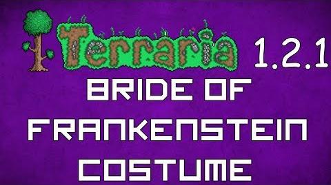 Bride of Frankenstein Costume - Terraria 1.2.1 New Social Set!