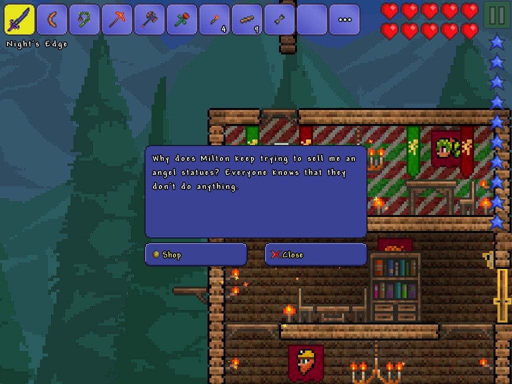 terraria how to get dryad