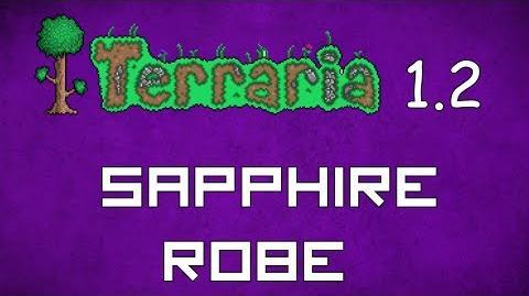 Sapphire Robe - Terraria 1