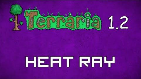 Heat Ray - Terraria 1.2 Guide New Magic Weapon!-1380755995