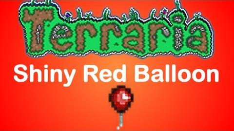 Terraria Shiny Red Balloon (fixed)