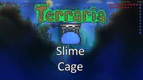 Terraria Obsidian Mod — Slime Cage!