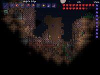Terraria environment meteorite biome