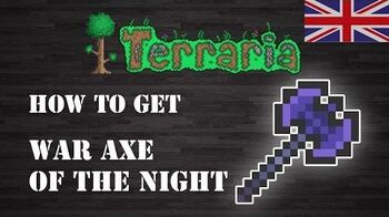 "Terraria "" War Axe of the Night "" ENG How To Get Step by Step"