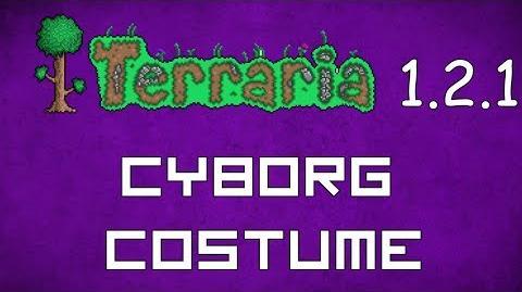 Cyborg Costume - Terraria 1.2