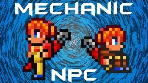 Mechanic NPC Terraria HERO