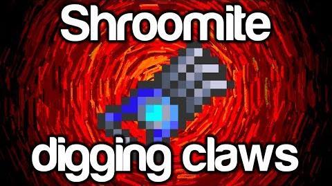 Shroomite Digging Claw Terraria 1.2