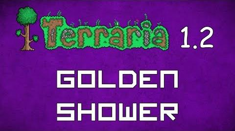 Golden Shower - Terraria 1