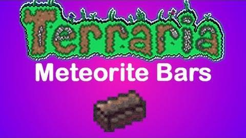 Terraria Meteorite Bars