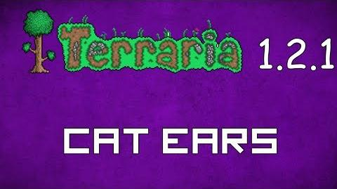 Cat Ears - Terraria 1.2.1 New Social Hat!