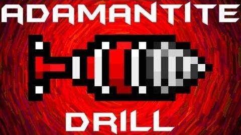 Adamantite Drill Terraria HERO