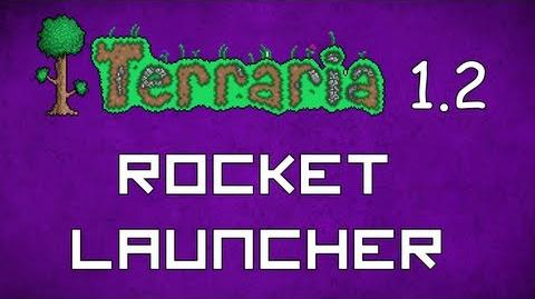 Rocket Launcher - Terraria 1
