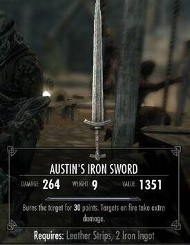 Austin's OP Sword