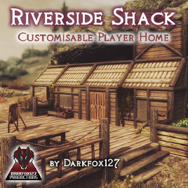 Riverside shack cover