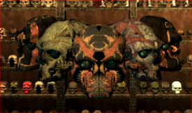 Unique Skulls Of Skyrim - Title