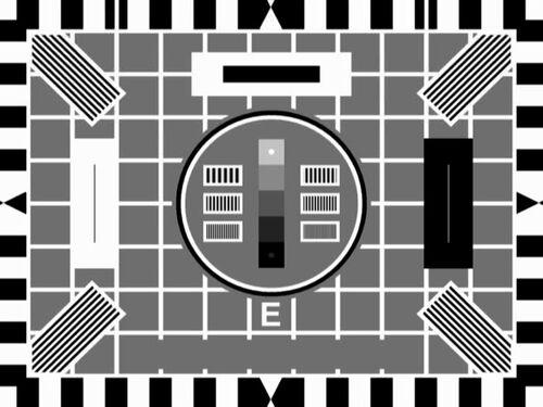 BBC Test Card E