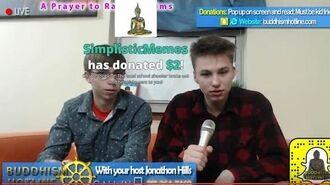 Buddhism Hotline - 4chan TROLL CALLS (4-6-17) Prayer for Rape Victims