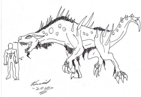 Hyena Monster by DemonRyo