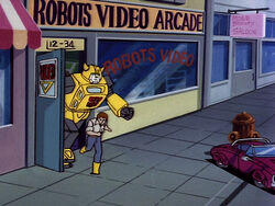 Robots Video Arcade