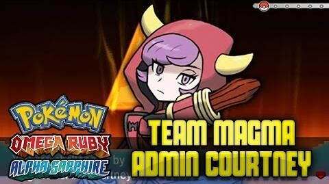 "Pokémon Omega Ruby & Alpha Sapphire - ""Team Magma Admin Courtney"""