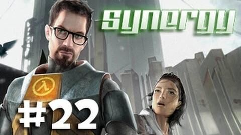 Synergy Half-Life 2 Co-Op w Ze, Nova, & Kootra - Part 22 Going to the Bridge