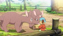 Chipo feeding donkey.png