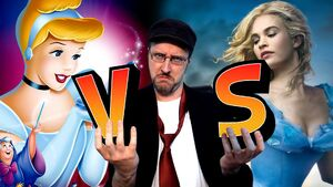 Nostalgia critic old vs new cinderella