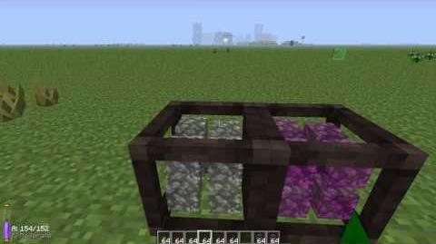 Thaumcraft 3 Tutorial, Crystal Cluster Crystal Capacitor-0