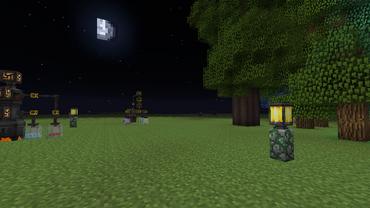 Arcane lamps demonstration