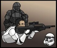 Odst clonetrooper by blixychildish-d3g2a5b
